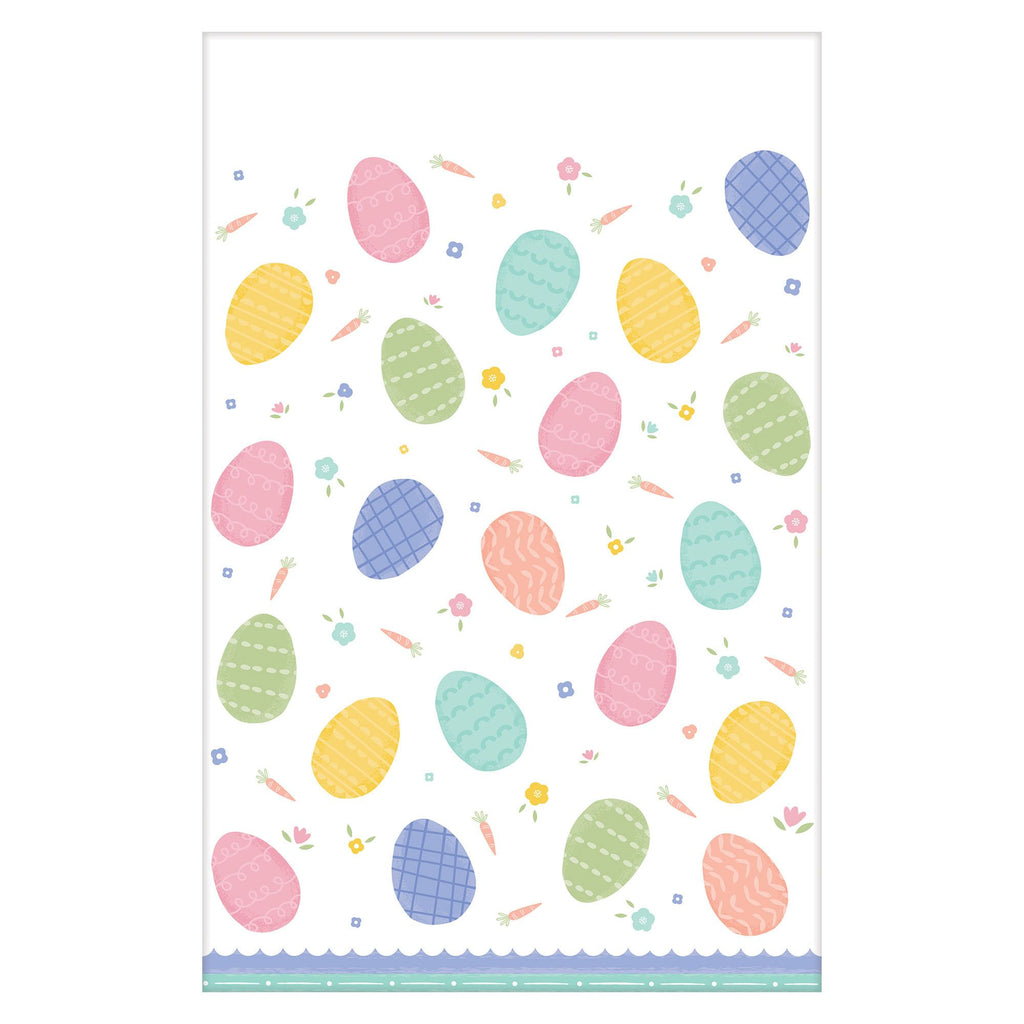 Pretty Pastel Easter Table Cover