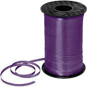 500YD Purple Curling Ribbon - RIBBON - Party Supplies - America Likes To Party