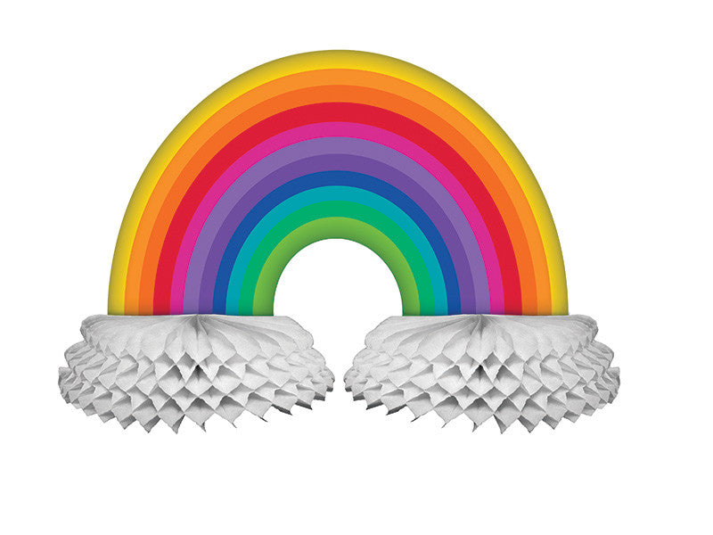 Rainbow Centerpiece - GENERAL BIRTHDAY PATTERNS - Party Supplies - America Likes To Party