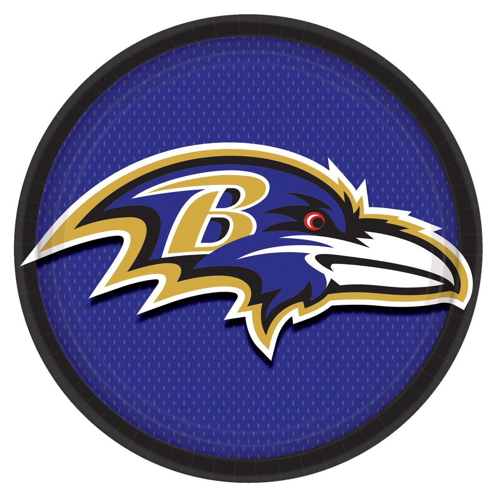 Baltimore Ravens Lunch Plates 8ct