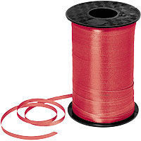 500YD Red Curling Ribbon - RIBBON - Party Supplies - America Likes To Party
