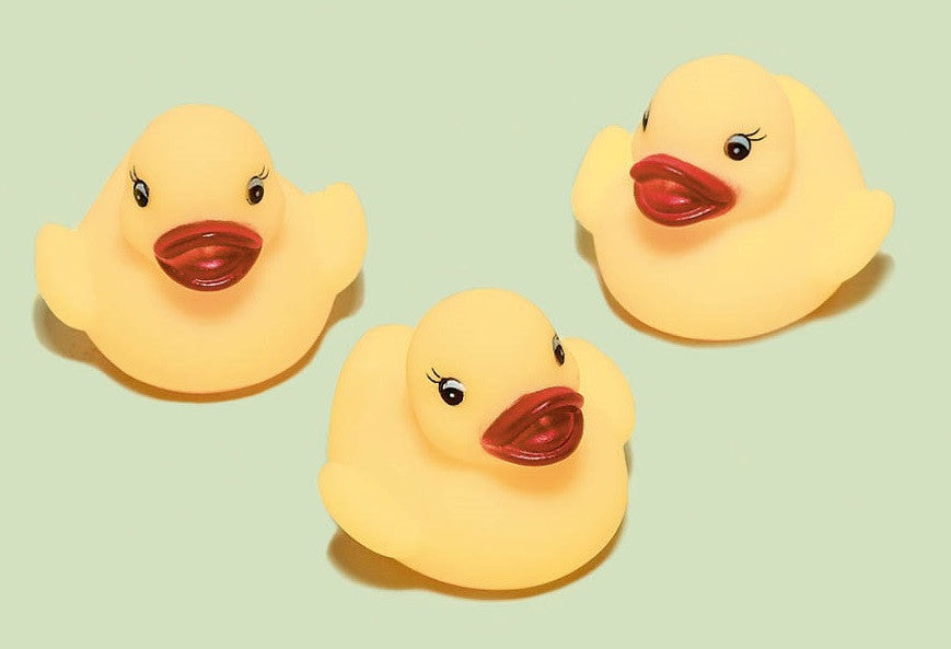 Rubber Ducky 3ct - FAVORS BABY - Party Supplies - America Likes To Party