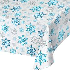 Snowflake Swirls Tablecover