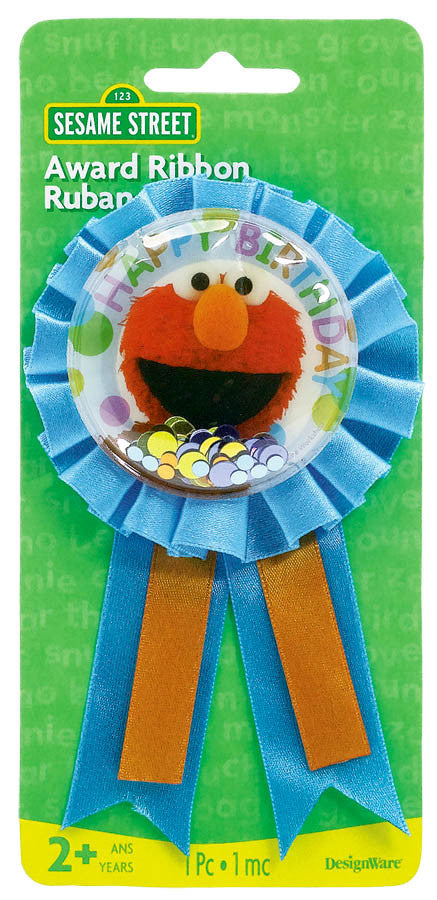 Sesame Street Award Ribbon - SESAME STREET - Party Supplies - America Likes To Party