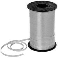500YD Silver Curling Ribbon - RIBBON - Party Supplies - America Likes To Party
