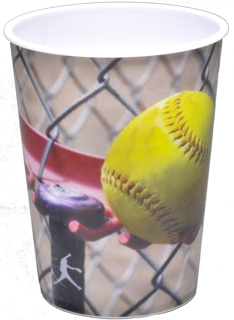 Softball 16oz Cup - BASEBALL/SOFTBALL - Party Supplies - America Likes To Party