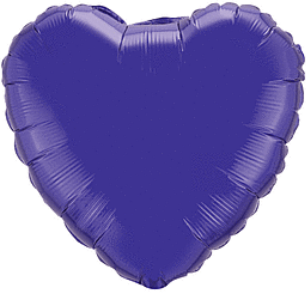 **12 for $15 Mix & Match**<br />Add to cart for discount<br /><br />Purple Heart Balloon