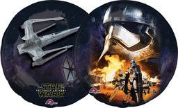 Star Wars Fighter Jet Super Shape Balloon - KIDS BDAY MYLARS - Party Supplies - America Likes To Party