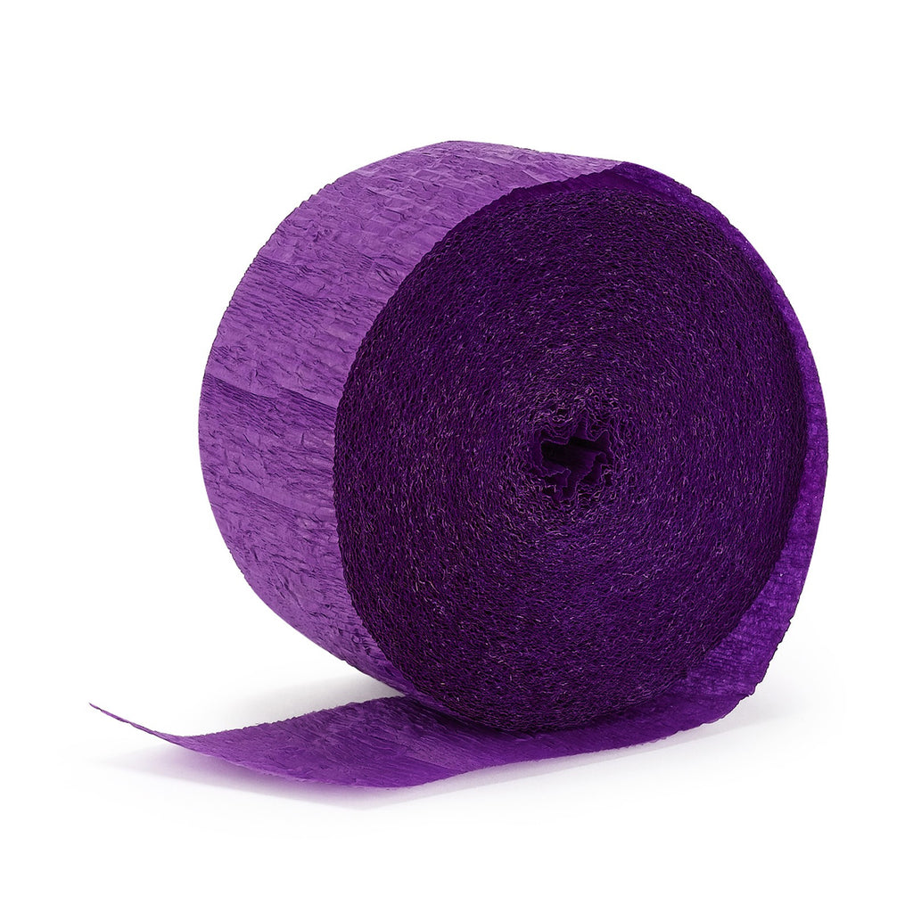 Purple Crepe Streamer - CREPE - Party Supplies - America Likes To Party