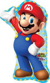 Super Mario Super Shape Balloon - KIDS BDAY MYLARS - Party Supplies - America Likes To Party