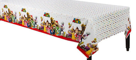Super Mario Tablecover - MARIO - Party Supplies - America Likes To Party