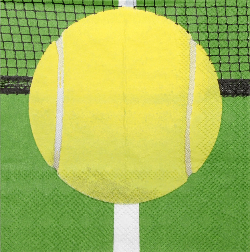 Tennis Lunch Napkins 16ct - BASEBALL/SOFTBALL - Party Supplies - America Likes To Party