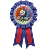 Thomas the Tank Award Ribbon - THOMAS THE TRAIN - Party Supplies - America Likes To Party