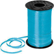 500YD Turquoise Curling Ribbon - RIBBON - Party Supplies - America Likes To Party