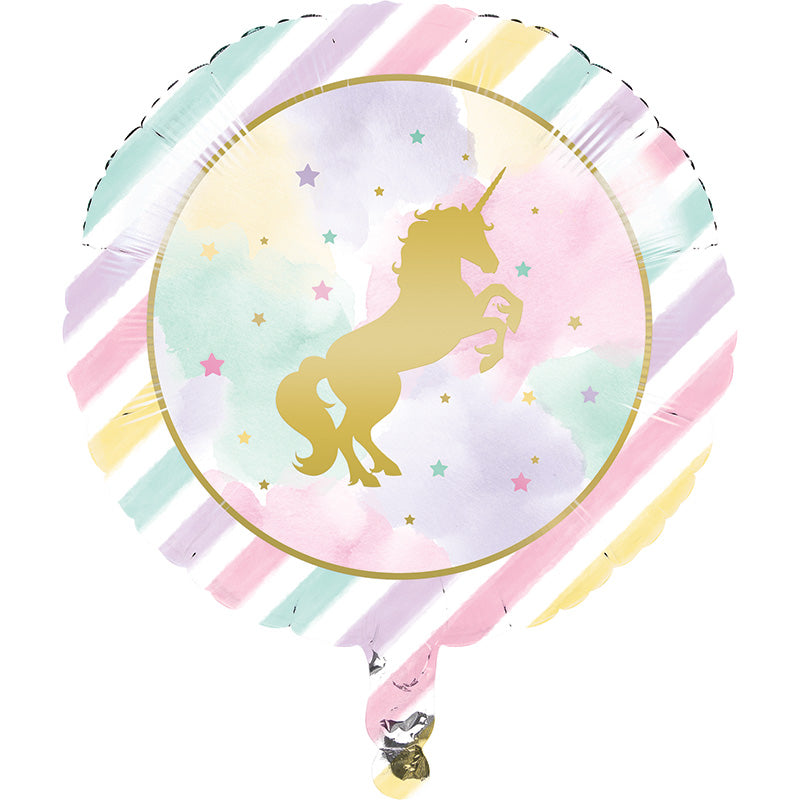 Unicorn Sparkle Balloon - UNICORN - Party Supplies - America Likes To Party
