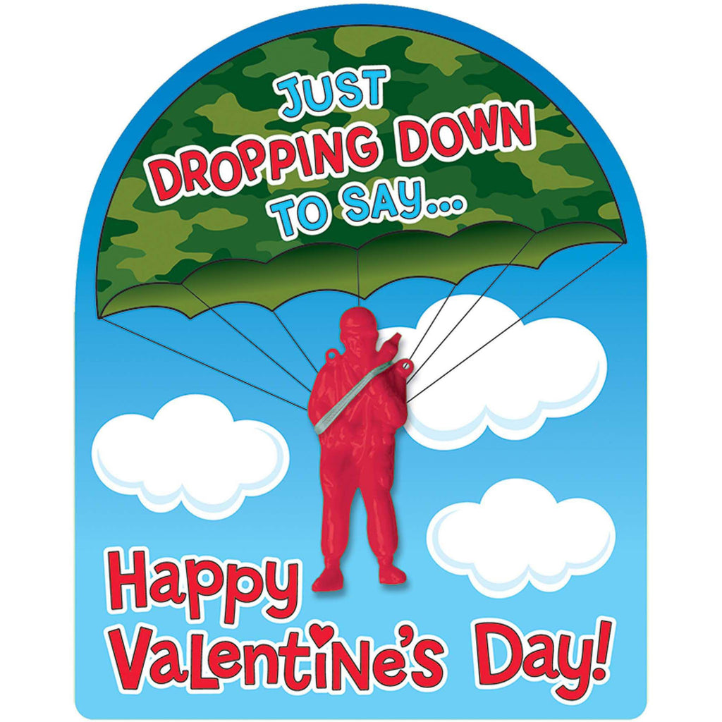 Valentine's Day Cards with Paratroopers