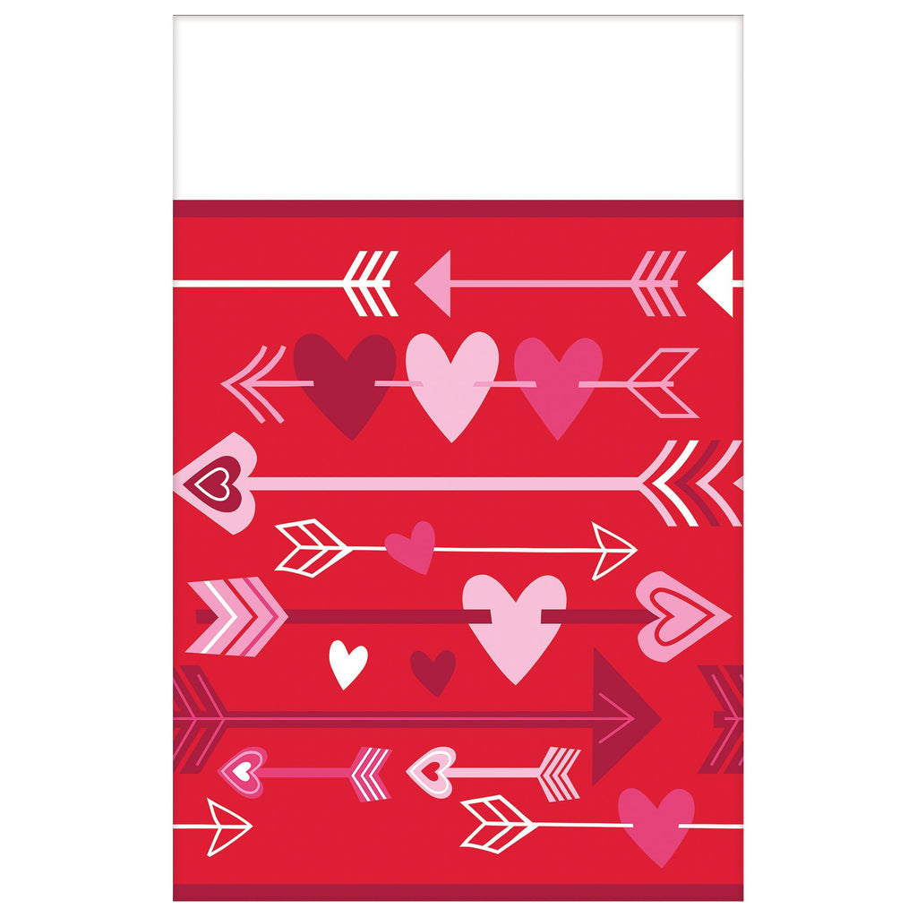 Valentine Wishes Table Cover