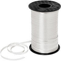 500YD White Curling Ribbon - RIBBON - Party Supplies - America Likes To Party