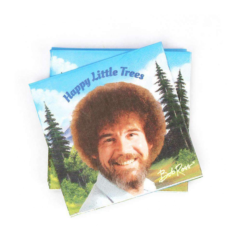 Bob Ross Beverage Napkin