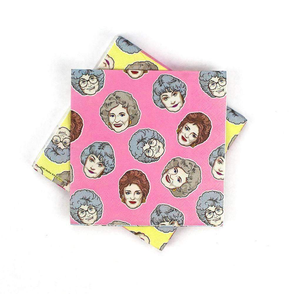 Golden Girls Beverage Napkin