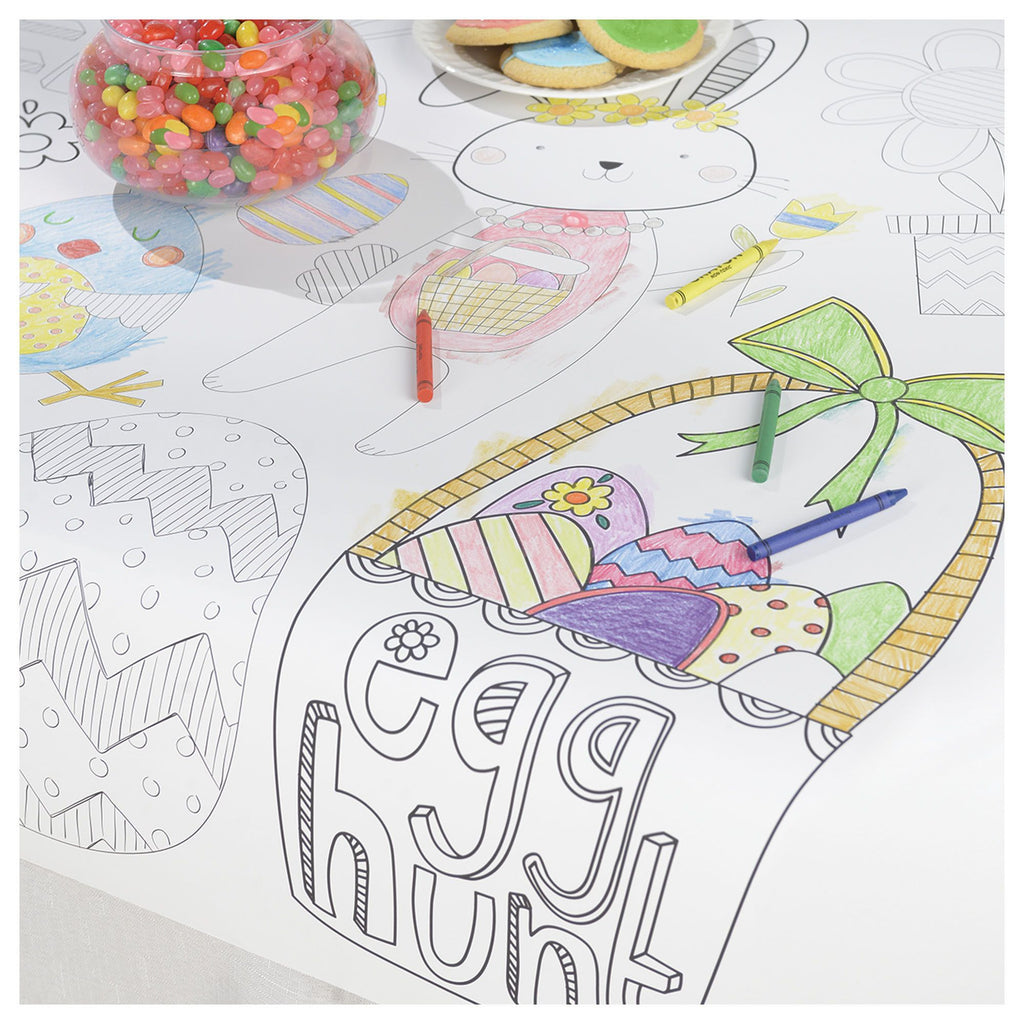 Easter Coloring Tablecover