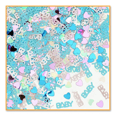 Baby On The Way Confetti - CONFETTI - Party Supplies - America Likes To Party