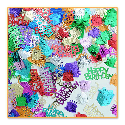 Birthday Bash Confetti - CONFETTI - Party Supplies - America Likes To Party