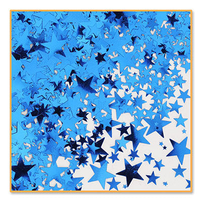 Blue Stars Confetti - CONFETTI - Party Supplies - America Likes To Party