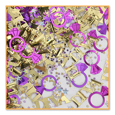 Diva Confetti - CONFETTI - Party Supplies - America Likes To Party