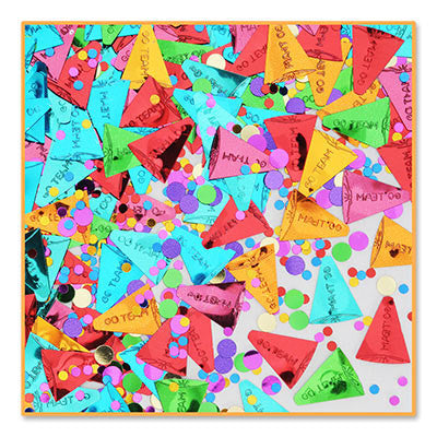 Go Team Confetti - CONFETTI - Party Supplies - America Likes To Party