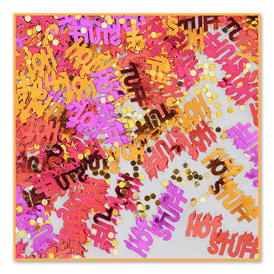 Hot Stuff Confetti - CONFETTI - Party Supplies - America Likes To Party