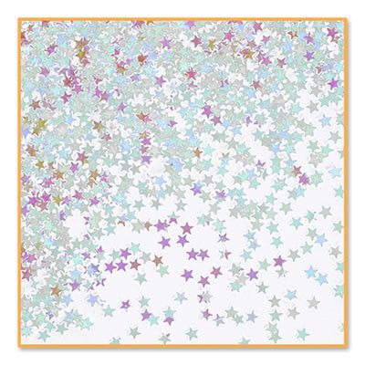 Iridescent Stars Confetti - CONFETTI - Party Supplies - America Likes To Party