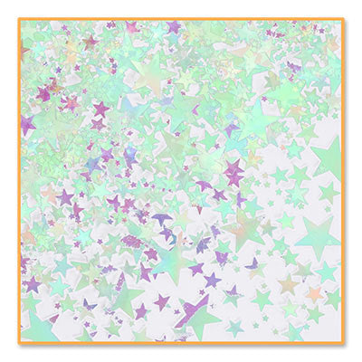 Iridescent Star Medley Confetti - CONFETTI - Party Supplies - America Likes To Party