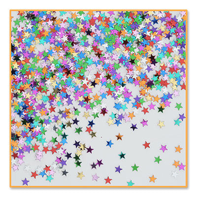 Party Stars Confetti - CONFETTI - Party Supplies - America Likes To Party