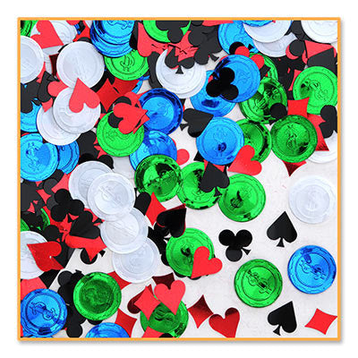Poker Party Confetti - CONFETTI - Party Supplies - America Likes To Party