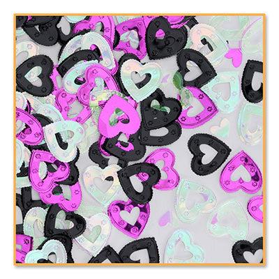 Pretty Hearts Confetti - CONFETTI - Party Supplies - America Likes To Party