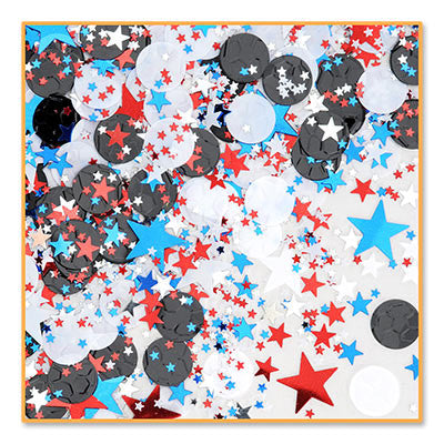 Soccer Star Confetti - CONFETTI - Party Supplies - America Likes To Party