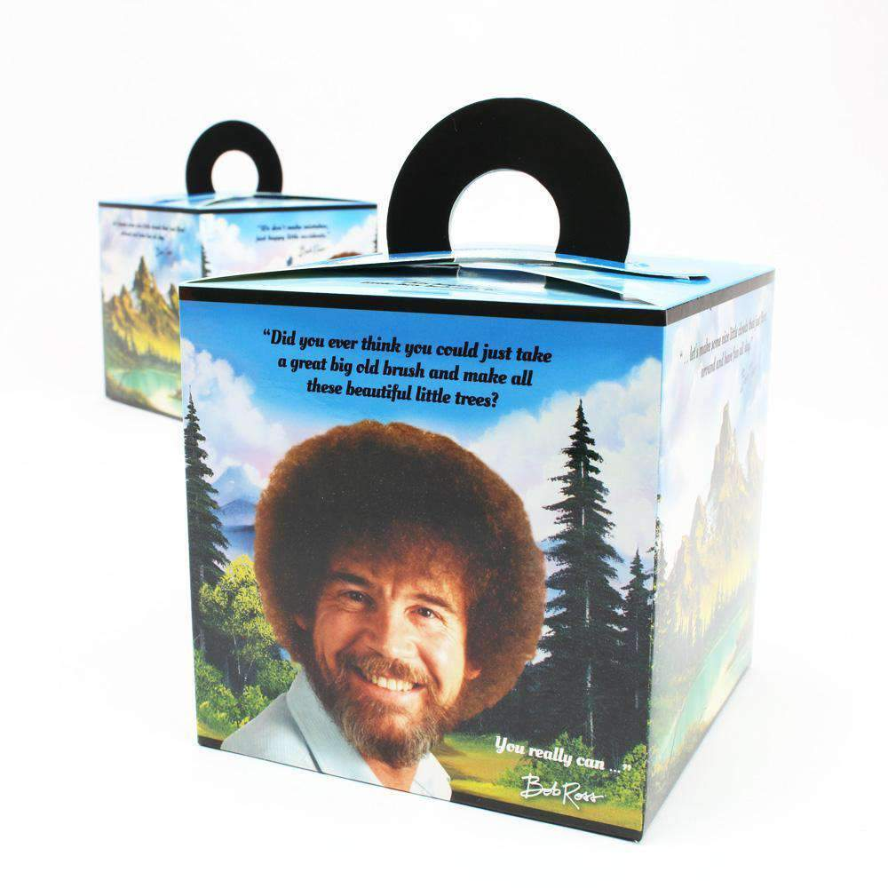 Bob Ross Favor Boxes