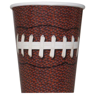 Football Party 9oz Cups - FOOTBALL - Party Supplies - America Likes To Party