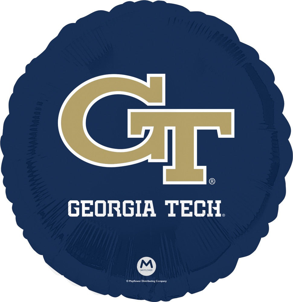 "Georgia Tech University 18"" Foil Balloon"