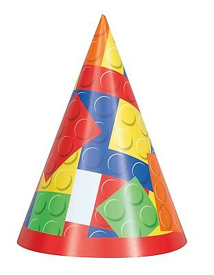 Block Party Cone Hats 8ct