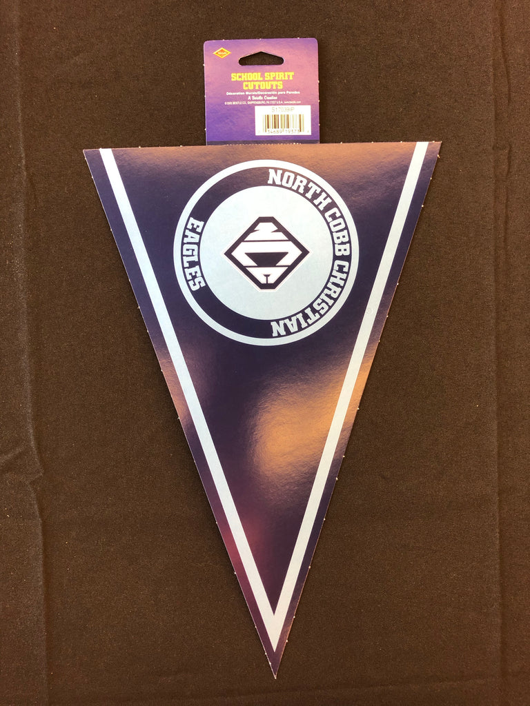 North Cobb Christian School Pennant Cutout