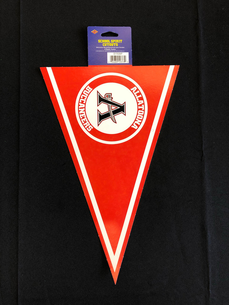 Allatoona High School Pennant Cutout