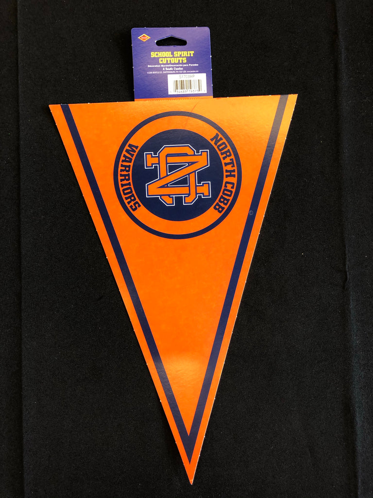 North Cobb High School Pennant Cutout