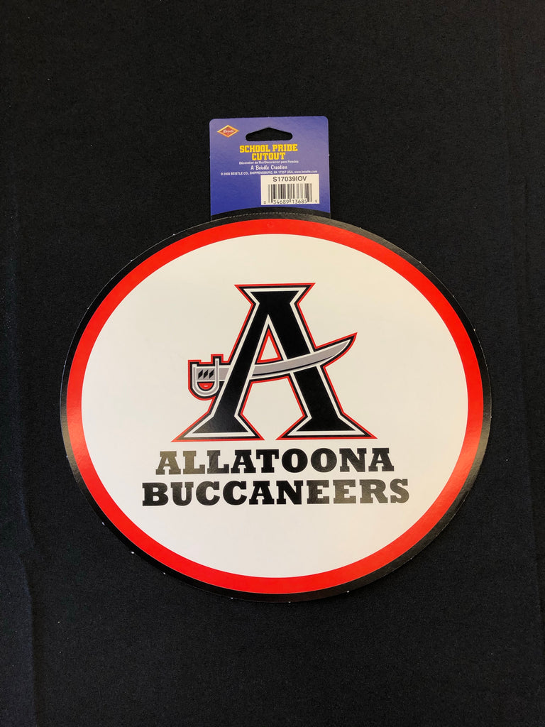 Allatoona High School Oval Cutout
