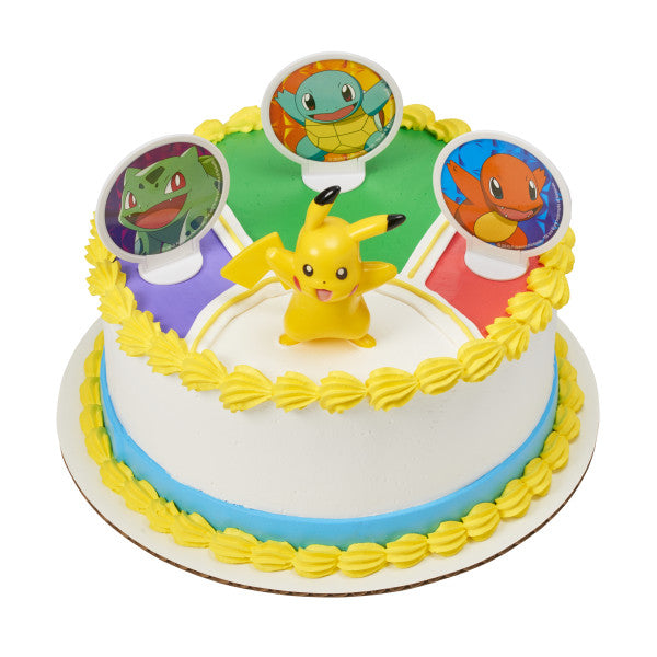 Pokemon Light Up Pikachu Cake Kit - CAKE DECORATIONS - Party Supplies - America Likes To Party