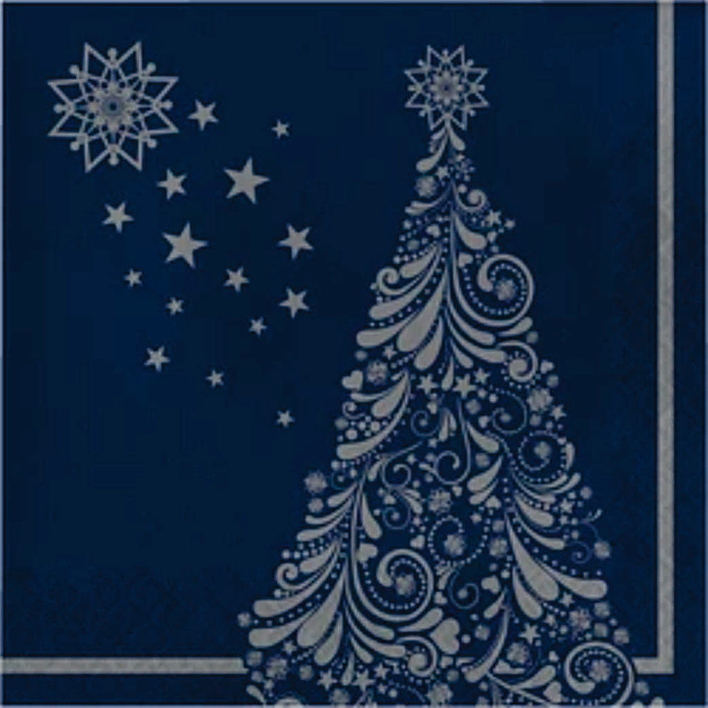 Silent Night Lunch Napkins