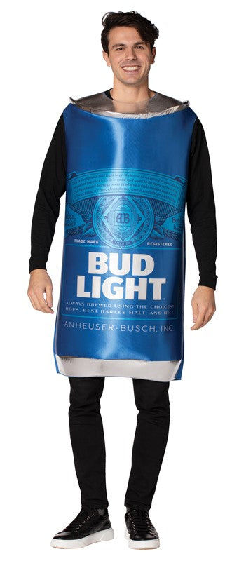 Adult Bud Light Can Costume #371
