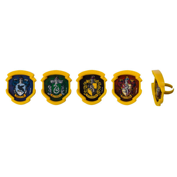 Harry Potter Cupcake Rings 12ct - CUPCAKE - Party Supplies - America Likes To Party