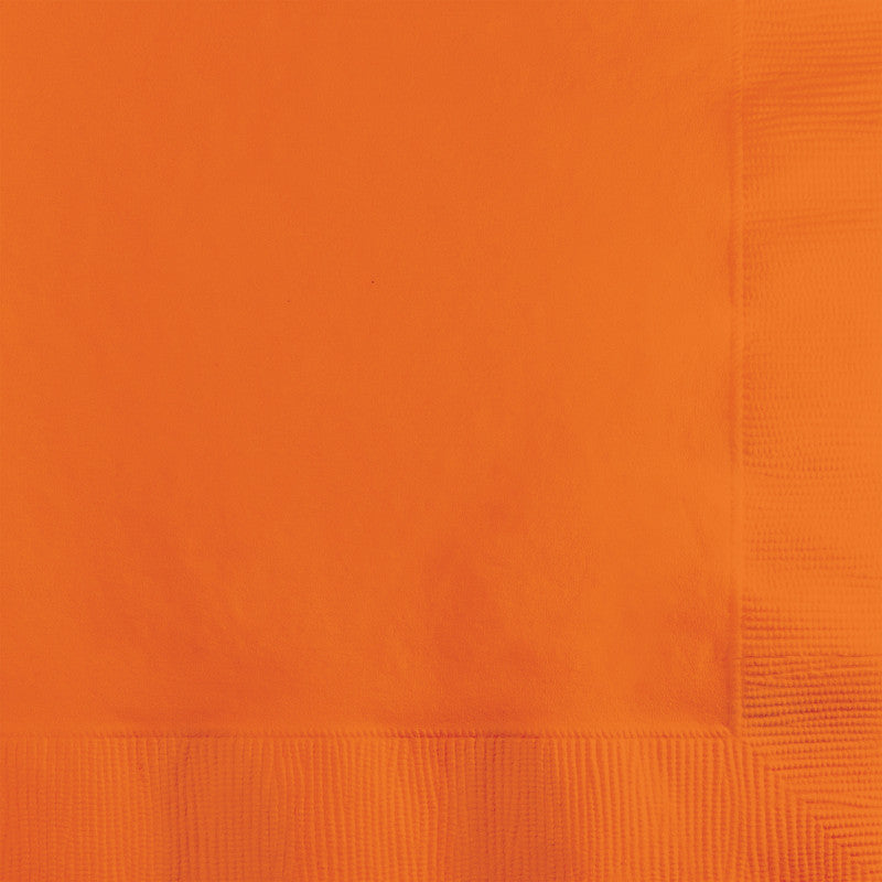 Orange Peel Big Party Pack Beverage Napkins 125ct - BIG PARTY PACKS - Party Supplies - America Likes To Party